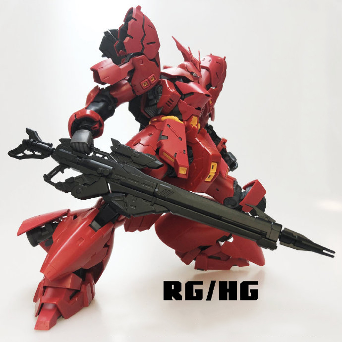 Beam rifle for 1/144 Sazabi & Sinanju Gundam model Mobile Suit(China)