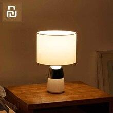 Xiaomi ข้างเตียง TOUCH SENSOR โคมไฟตั้งโต๊ะ 2 pcs การใช้พลังงานต่ำเหมาะสำหรับห้องนอนบ้าน