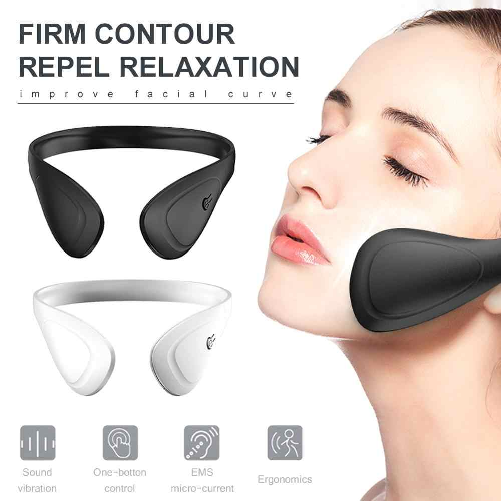 Appareil de massage Facial ultrasonique infrarouge EMS de levage de visage ultrasons amincissant la Machine de beauté de visage de Cavitation de brûleur de graisse