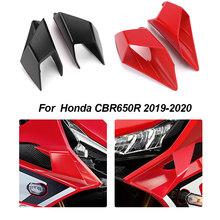 Motocykl Fairing Winglets dla Honda CBR650R CBR 650R 650R 2019 2020 Fairing Winglets boczne skrzydło pokrywa ochronna dla CBR650