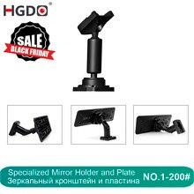 HGDO Автомобильный видеорегистратор держатель для автомобиля dvr s крепления зеркало заднего вида dvr держатель Автомобильный gps рекордер кронштейн видеорегистратор настраиваемый