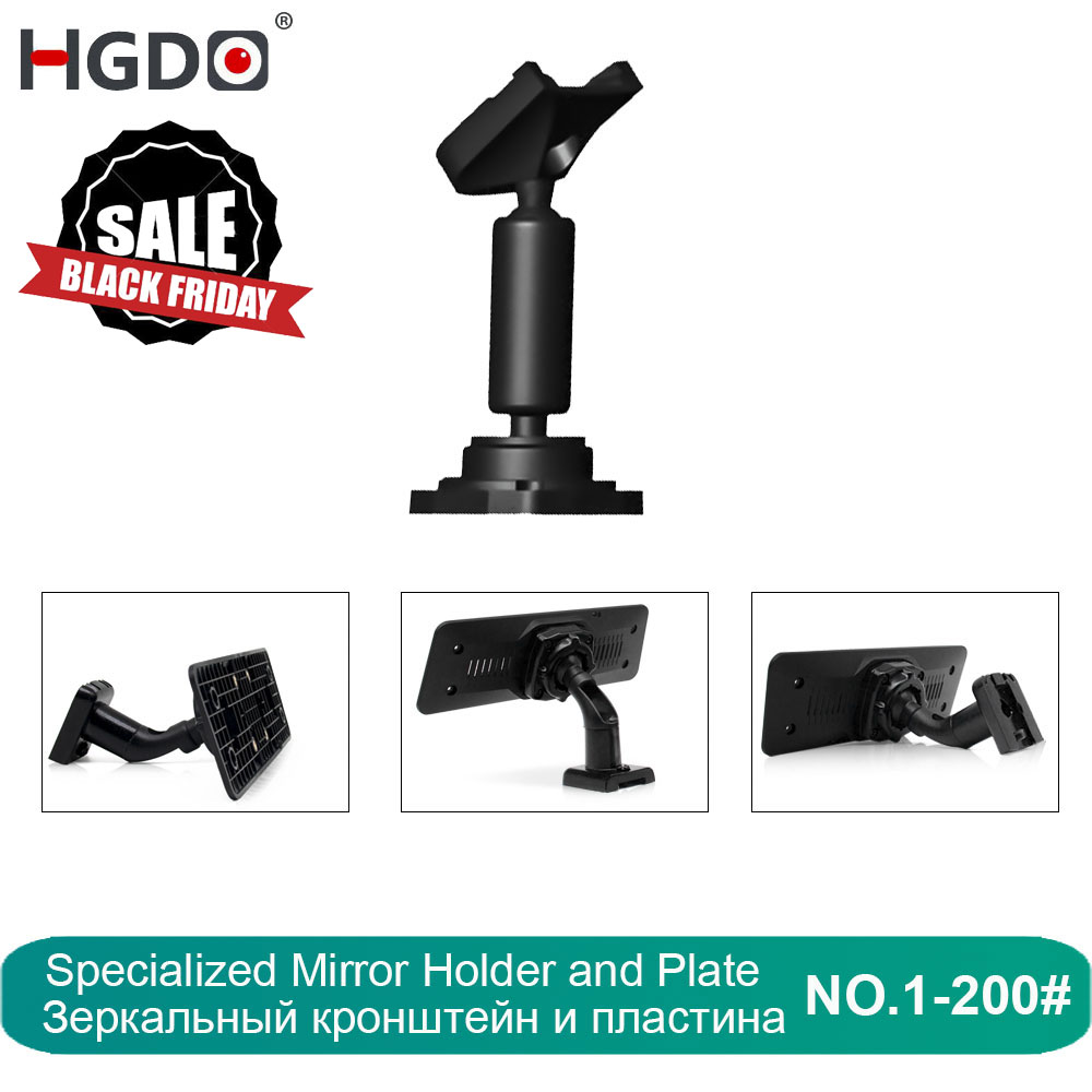 HGDO Car DVR Holder for Car DVRs Mounts Rearview Mirror DVR Holder Car GPS Recorder Mount Bracket Dash Cam Customizable