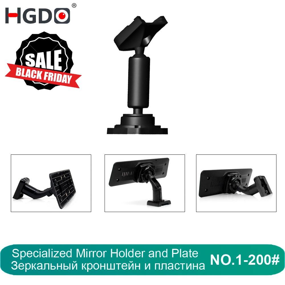 HGDO Car DVR Holder For Car DVRs Mounts Rearview Mirror DVR Holder Car GPS Recorder Mount Bracket Dash Cam Customizable