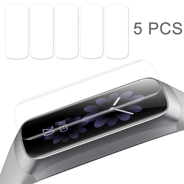 5 Pcs Soft Ultra Thin Film Guard for Samsung Galaxy Fit & Fit E  Clear Screen Protector for Galaxy Fit E Anti Scratch TPU Film