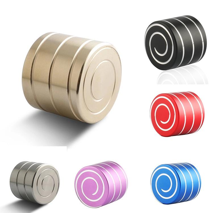 Al aire libre hombres Mini Hypnosis giratoria Gyro juguete de dedos Fidget Cubo de giro escritorio superior dedo ventilación Aleación de descompresión regalos Rueda de aleación de aluminio Killerbody 1,68 pulgadas/1,55 pulgadas apto para neumáticos KB48691 3,35 pulgadas y apto para orugas 1/10