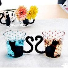 Креативное животное, мультяшная кошка, разработанная бутылка чашки принадлежности для кухни бара кружка