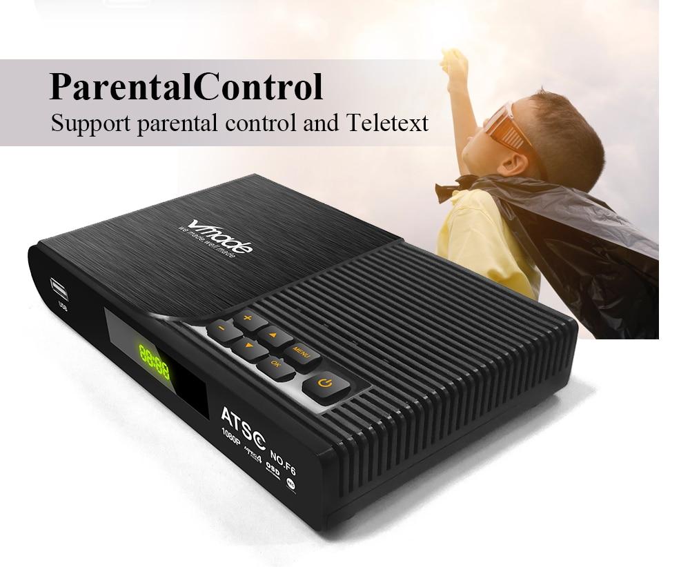 ATSC T terrestrial digital HD TV receiver work at USA Canada Mexico Korea tuner ATSC-T atsc t standard 18