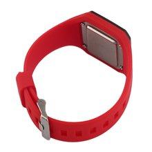Men Women Sports Silicon Band Strap LED Heartbeat Rate Wrist Watch Time Date Heartbeat Rate Wrist Watch татуировка переводная heartbeat