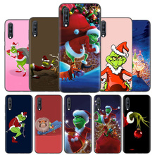 Silicone Case Cover For Samsung Galaxy A50 A80 A70 A60 A40 A30 A20 A20e A10 A9 A8 A7 A6 Note 8 9 10 Plus 2018 5G Grinch Christma