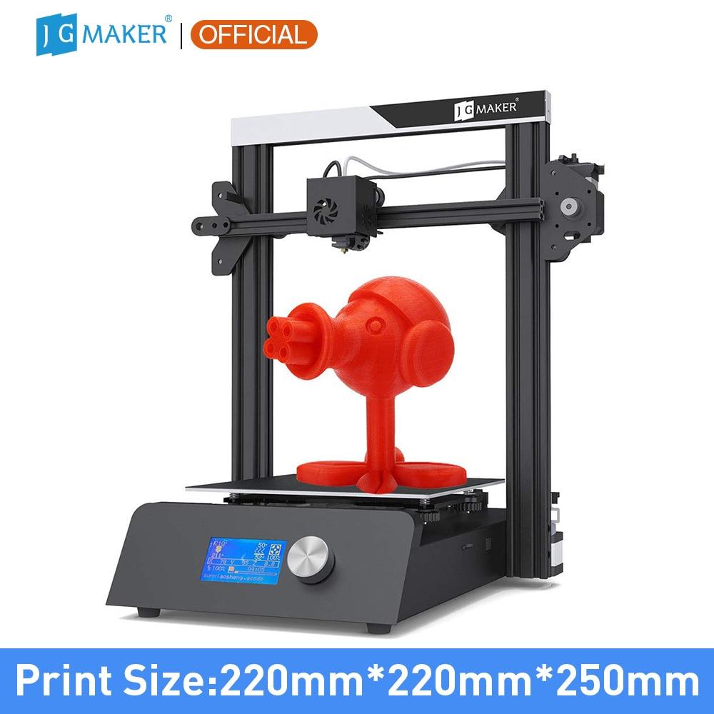 JGMAKER Magic 3D Printer Aluminium Frame DIY KIT Large Print Size 220x220x250mm Printing Masks Fast