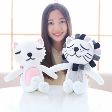 2019 new creative baby child comfort doll lovely cat fluffy play toys 40cm