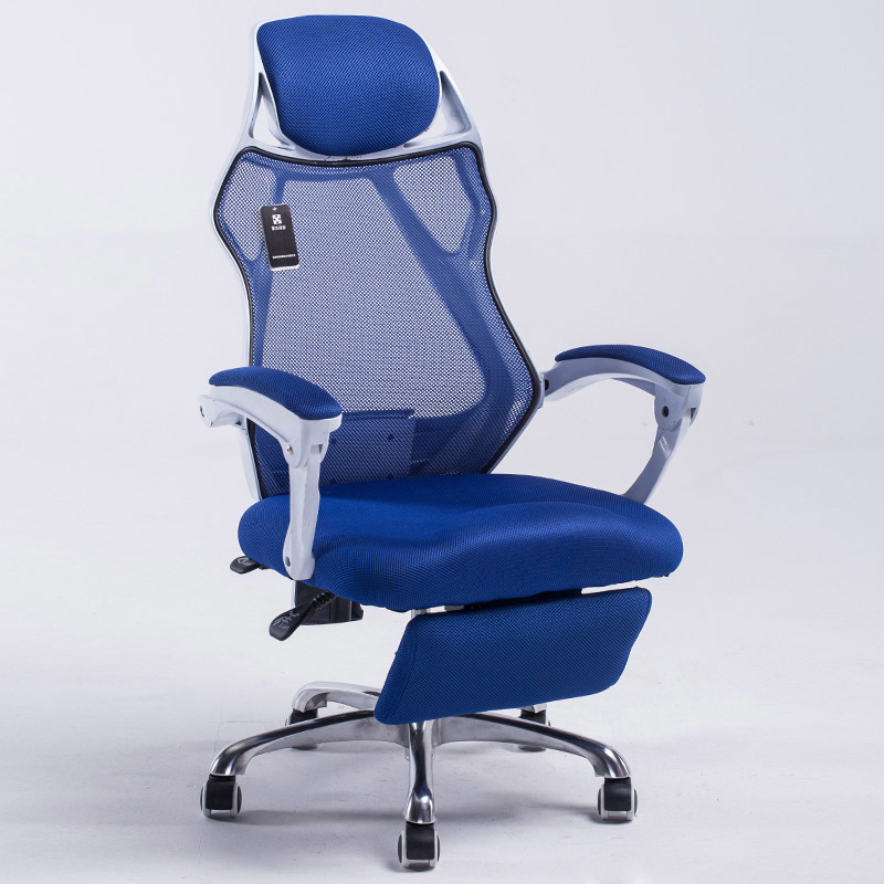 Купить с кэшбэком Mesh back office chair swivel function gas lift height adjustment base stainless steel with wheels