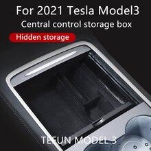 Boîte de rangement pour accoudoir Central de Tesla modèle 3 Y, conteneur organiseur de rangement pour accessoires, Console centrale, nouveau, 2021
