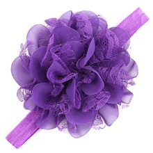 Girls Infant Hair Band newborn photography props Solid color baby hair accessories baby girl clothes chouchou cheveux femme(China)