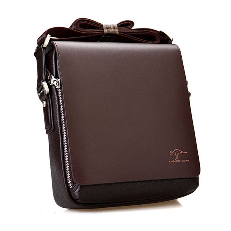 Fashion Brand Men's Messenger Bags Quality PU Leather Shoulder Bag Men Crossbody Bag Luxurious Business Handbags For Male