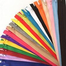 10 stücke 10-60cm (4 zoll-24 Zoll) nylon Spule Reißverschlüsse Schneider Kanalisation Handwerk Crafter (20 farben)