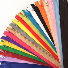 Nylon Tailor-Sewer Coil Zippers 20-Colors 10pcs Craft 10-60cm 4inch-24inch