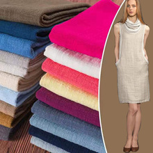 50X130cm Soft Linen Cotton Fabric Organic Material Pure Natural Flax  For Sewing DIY Handmade Clothes Patchwork Fabric