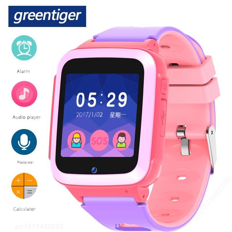 Greentiger M15 Game Smart Watch Kids Call Music MP3 SOS SIM Baby Smartwatch Audio Player Alarm Clock Children Safe VS Q50 Q90 Smart Watches     - AliExpress