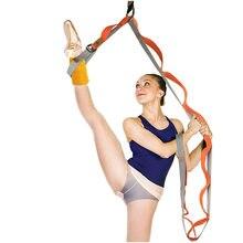 Pas do jogi taniec baletowy więzadło rozciągliwy pasek Slackline wielofunkcyjne napięcie liny drzwi elastyczność trener akcesoria do jogi