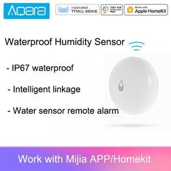 Aqara IP67 capteur d'humidité étanche capteur d'eau à domicile intelligent alarme à distance APP contrôle
