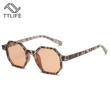 TTLIFE Polygonal Sunglasses Women Luxury Brand Designer Vintage Eyeglasses Womens Shades Trend Ladies Outdoor Glasses YJHH0038