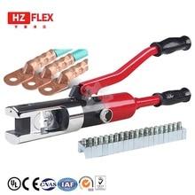 Ручной ZHO-300 Интегральные гидравлические обжимные инструменты провода кабель прессованные зажимы холодного давления автоматический сброс давления