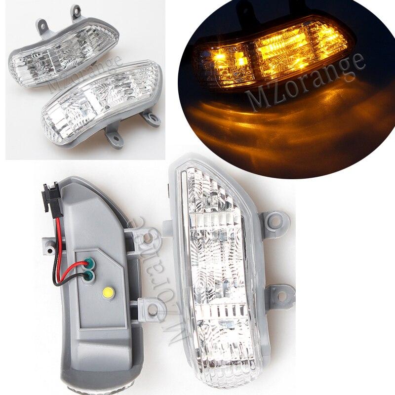 MZORANGE Rearview Mirror Light Turn Signal Indicator LED for JAC J5 Sedan Lamp