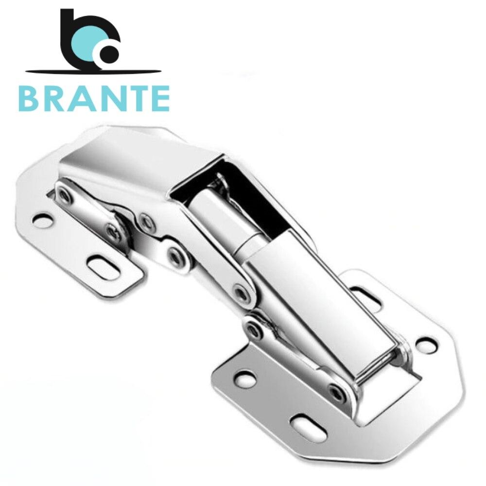 Комплект 4 петель Brante мебельная быстрого монтажа 104*44 мм