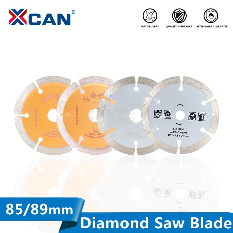 XCAN Diamond Saw Blade Diameter 85/89mm Dry-Cut Disc For Cutting Concrete Ceramic Brick Marble Stone Circular Saw Blade