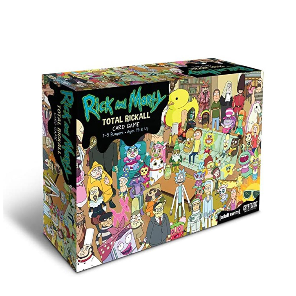 Rick Board Games Total Rickall Morty Card game For Family Party home Entertainment toys strategy table game gifts