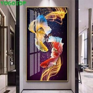 diy Diamond Painting Full Diamond Rmbroidery Sale Home Decor Picture Mosaic Animal,Santa Claus Big Christmas,Colored Koi YY4721