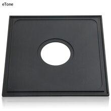 גופאל #1 140x140mm שחור עדשת לוח עבור פרש LD LE L45 סינאר F1 F2 4x5 תצוגת מצלמה