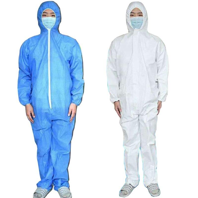 Reusable Protective Suit Coverall Hazmat Suit Anti-Spit Liquid Splash Protection Clothing Safety Coverall Virus Protection Suit
