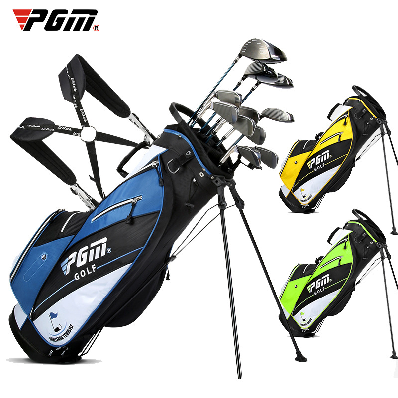 Pgm Golf Stand Bag Mens Women Waterproof Pack Cover Golf Bags 14 Plunger Putter Cover Bag Lightweight Portable Rack Bags