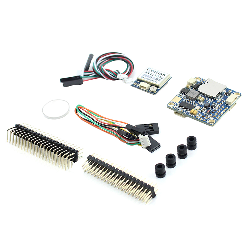 <font><b>JMT</b></font> BF F4 Pro V3 RC Flight Controller Board + GPS Built-in Barometer OSD TF Slot for DIY FPV Quadcopter for Betaflight Freestyle image
