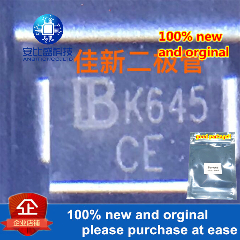 50pcs 100% New And Orginal SMBJ26CA 26V DO214AA Silk0-screen CE Two-way TVS Protecting Tube In Stock