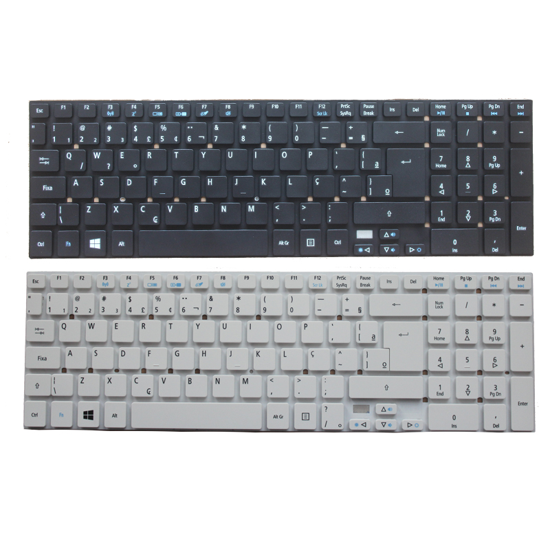 NEW Brazil/BR Laptop Keyboard For Acer Aspire E5-511 E5-511-P9Y3 E5-511G E1-511P E5-521G E5-571 E5-571G ES1-512 ES1-711 ES1-711G