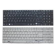 Novo brasil/br teclado de laptop para atacar aspior E5 511 E5 511 P9Y3 E5 511G E1 511P E5 521G E5 571 E5 571G ES1 512 ES1 711
