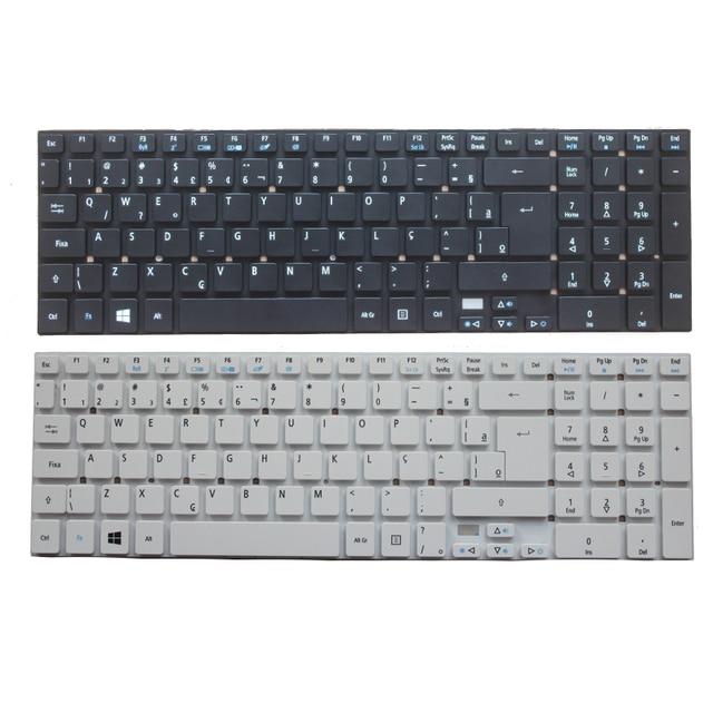 Nuevo Brasil/teclado BR para portátil, para Acer Aspire E5 511 E5 511 P9Y3 E5 511G E1 511P E5 521G E5 571 E5 571G ES1 512