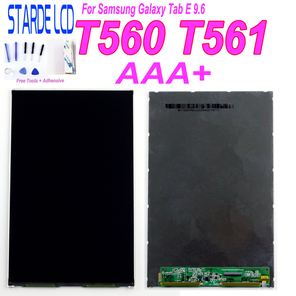 AAA+ For Samsung Galaxy Tab E 9.6 SM-T560 T560 T561 LCD Display Screen Replacement Repair Part With F Ree Tools And Adhensive