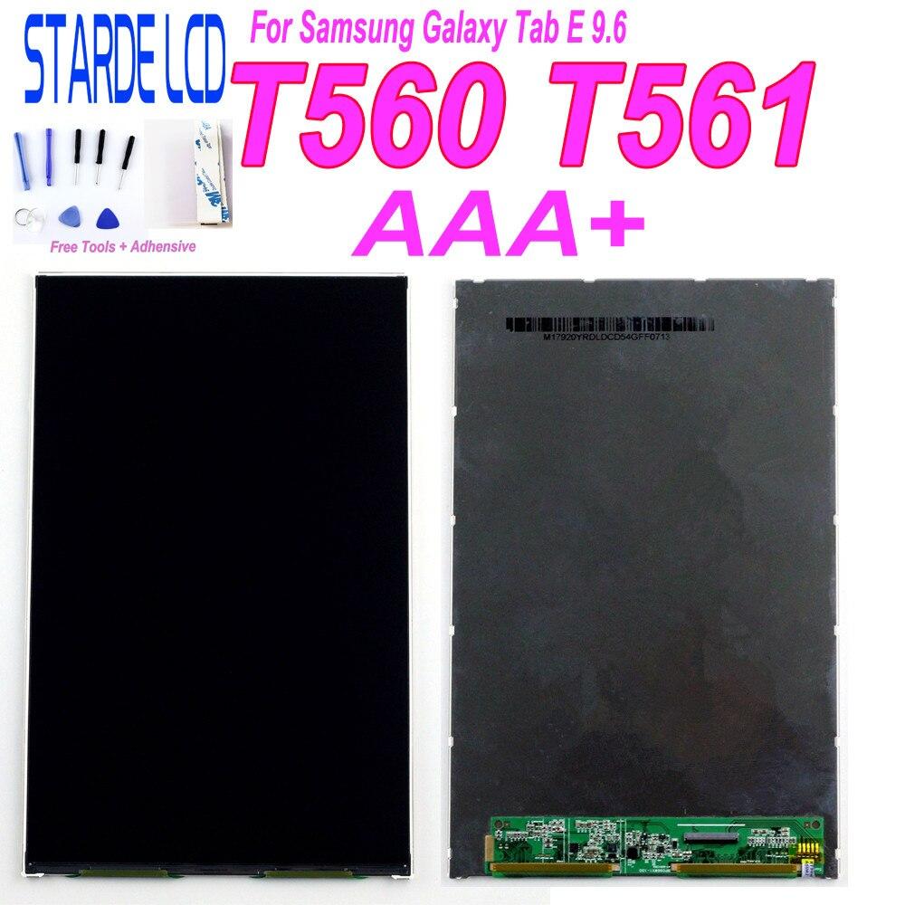 Recambio de pantalla LCD AAA + para Samsung Galaxy Tab E 9,6, SM-T560, T560, T561, pieza de reparación con herramientas F ree y adhesivo