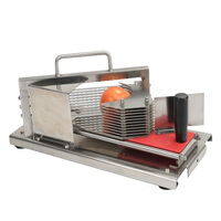 Loja de comida Tomate Máquina de Fatiar Frutas Fatiador de Limão Máquina