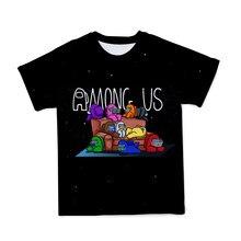 Детская любимая группа мультфильмов, новинка 2021, летние топы 3dt, модные повседневные свободные спортивные топы с коротким рукавом для мальч...