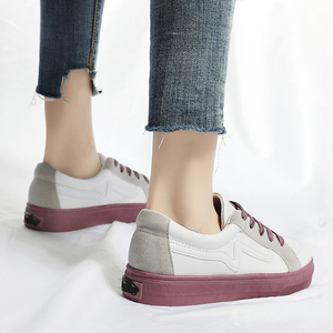 Image 4 - New Brand Shoes Women Vulcanized Canvas Casual Sneakers Fashion Lace Up Shoes Ladies Footwear Female Tenis Feminino Ayakkabi