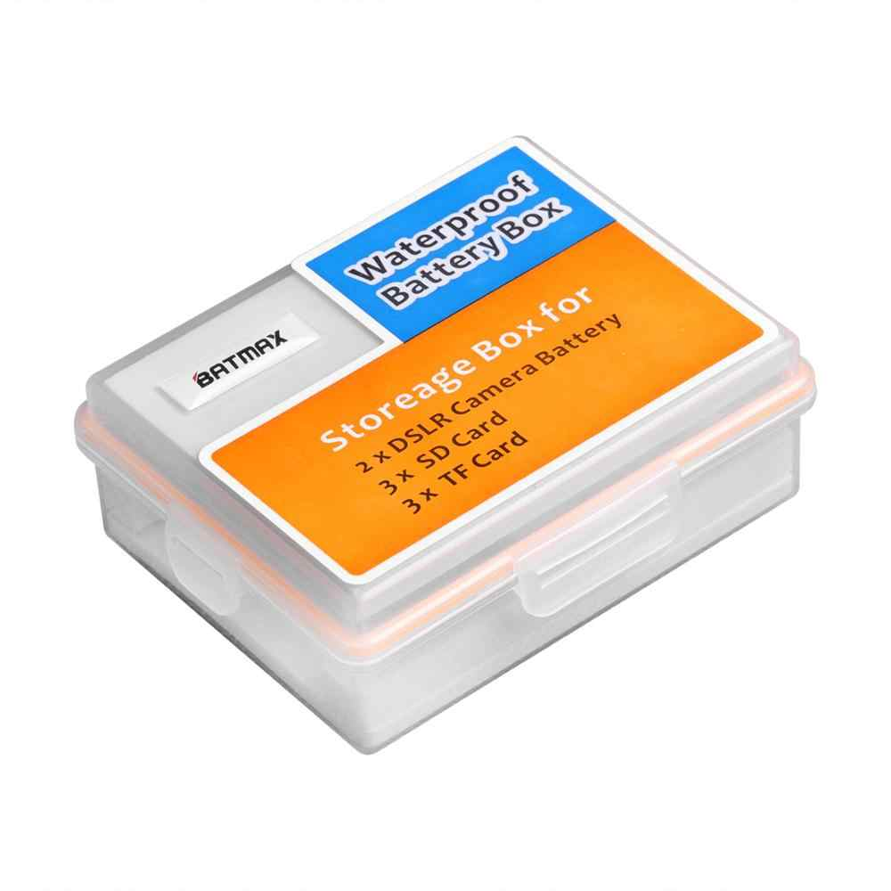 NP-FW50 kamera pil saklama kutusu su geçirmez SD TF hafıza kartı kutusu Sony Alpha a3000, a5000, a5100, a6000, a6300, a6400