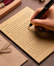 A4/B5/A5 Vintage Kraft paper Writing Letter Stationery Romantic Creative Small Fresh Japanese Style Letterhead Note craft Paper