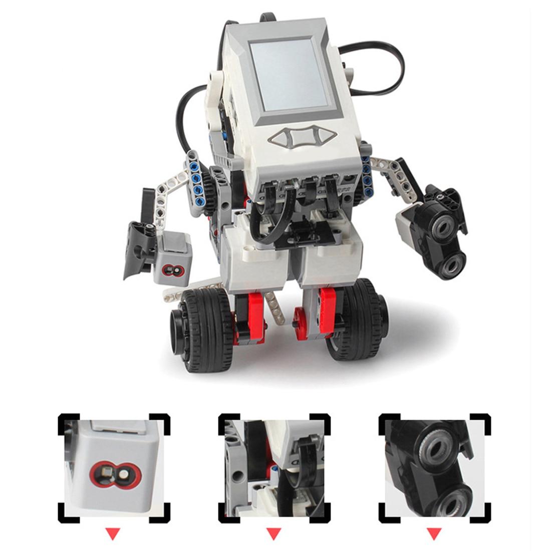 Programmable Model Building Block Assembly Smart Robot Toy Kit DIY Multifunctional Model Educational Learning Kit Children Gift