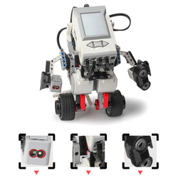 Programmierbare Modell Baustein Montage Smart Roboter Spielzeug Kit DIY Multifunktionale Modell Pädagogisches Lernen Kit Kinder Geschenk