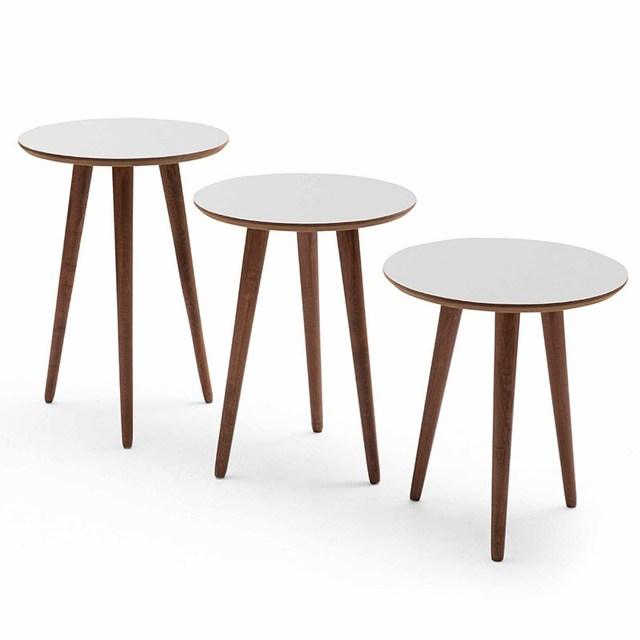 3 PCs Round Coffee Table  2